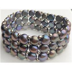 DazzlingMulti Pearl Bracelet