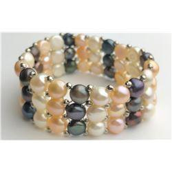 Marvelous Multi Pearl Bracelet