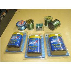 ELIMIN Steath Dust Fishing Line 6 lb. Protac, Zebco
