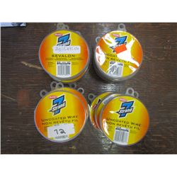BERKLEY - 7 strand uncoated wire, 27 lb. Qty 20