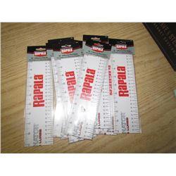 "RAPALA 36' adhesive rulers 36"" qty 10"