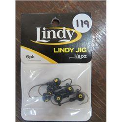 LINDY jigs 1/8 oz qty 19