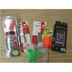 VIPER self Venting Gas Cap, Mora Ice Blades, Dipsy Diver trip adjust size 3, Iphone 3G cover, 1 pkg