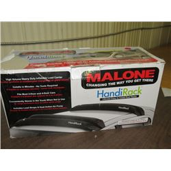 MALONE HandiRack - inflatable carrier, installs in minutes, fits most 2 & 4 door cars, returned