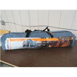 ECLIPSE Tent, sleeps 4 9'x7' speed frame, w/screen porch, returned