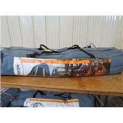 ECLIPSE Tent, sleeps 8 14'x9' speed frame, w/screen porch, returned