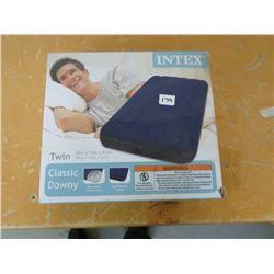 INTEX Air Mattress, twin, returned