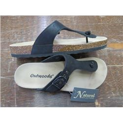 OUTWOODS sandals, Size 6, returned