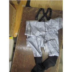 FROGGTOGGS, nylon breathable stocking foot waders, size XL, returned
