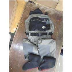 WHITE RIVER Classic breathable waders, size small, returned