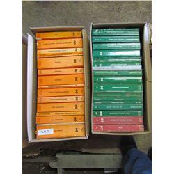 MANUALS, 2 boxes - 2000 Ram, Jeep, Viper, etc.