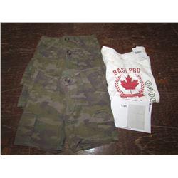 KIDS 3 pair shorts Size 2t, 1 Tshirts 1XS, returned