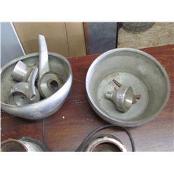 2 ELECTRIC Cream Separators, De LaVal, West Falla w/bowls, for parts only