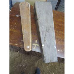 MUSKRAT Stretcher, Wooden violin case