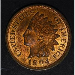 1904 INDIAN CENT, CH BU RB