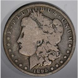 1895-O MORGAN DOLLAR, VG/F KEY DATE
