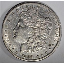 1889-CC MORGAN DOLLAR  XF-AU