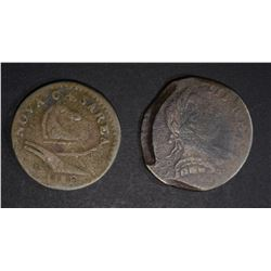 OLD COPPER COIN LOT: