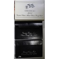 2007, 1992 & 1993 SILVER PROOF SETS