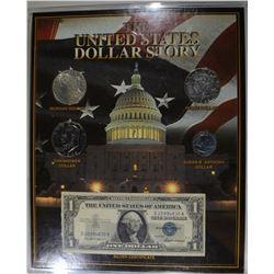 U.S. DOLLAR STORY; MORGAN & PEACE,