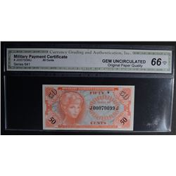 SERIES 641 .50 CENTS MILITARY PAYMENT CERTIFICATE