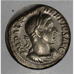 222-235AD SILVER DENARIUS