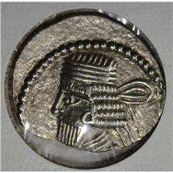 10-38 AD SILVER DRACHM PARTHIA