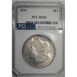 1879 MORGAN DOLLAR PCI CH BU