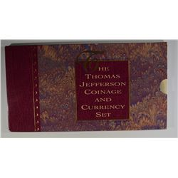 1993 JEFFERSON COIN & CURRENCY SET ORIG. PACKAGING