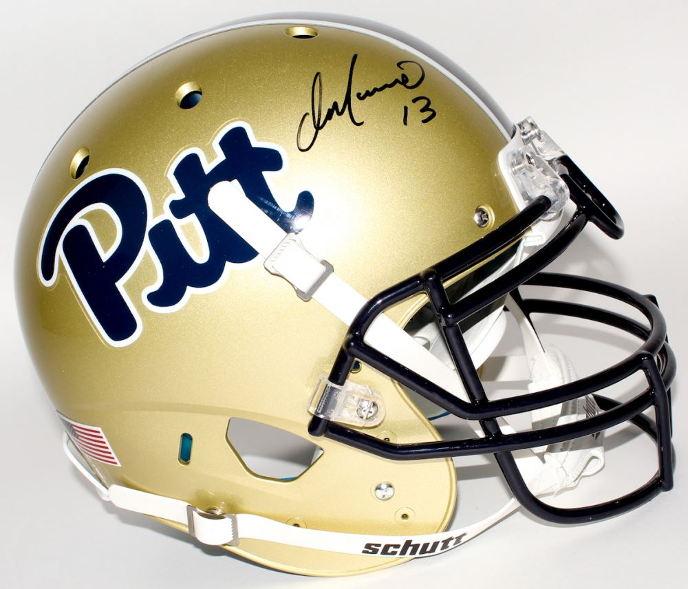 info for 59bab 3a5ee Dan Marino Signed Pittsburgh Panthers Full-Size Authentic ...