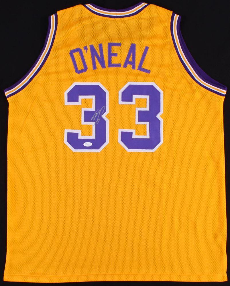 f894add4e29 Image 1 : Shaquille O'Neal Signed LSU Tigers Jersey (JSA COA)
