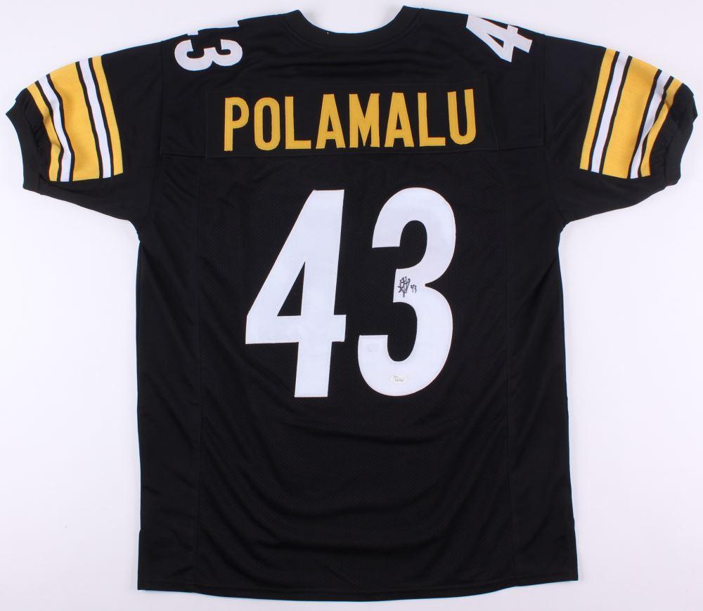 b5cc50094 Image 1   Troy Polamalu Signed Steelers Jersey (JSA COA)