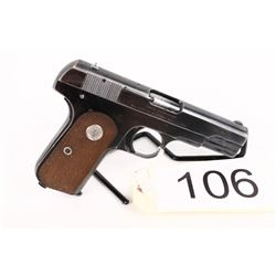 PROHIBITED. Colt 1903 Pocket Hammerless