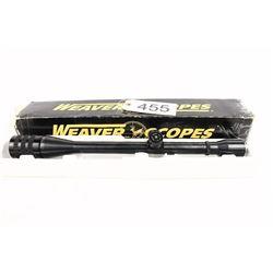 Weaver T20  20X Benchrest Scope