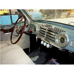 1947 LINCOLN ZEPHYR V12 4 DOOR SEDAN REGO EHM193