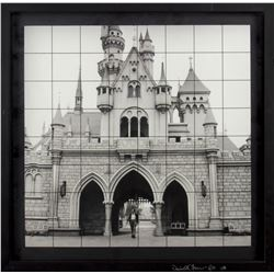 "Walt Disney at ""Sleeping Beauty Castle"" Photo Print."