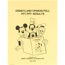 Disneyland Opinion Poll Results.
