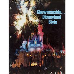 """Showmanship... Disneyland Style"" Cast Member Book."