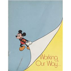 """Working, Our Way..."" Disney Employee Guidebook."