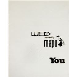 """WED Imagineering MAPO & You"" New Hire Book."