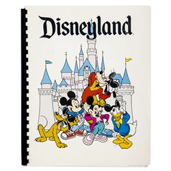 """Disneyland"" Cast Member Information Packet."