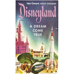 "Disneyland ""A Dream Come True"" Pamphlet."