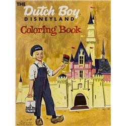 Dutch Boy Paints Disneyland Coloring Book.