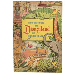 """Adventure in Disneyland by Richfield"" Comic Book."