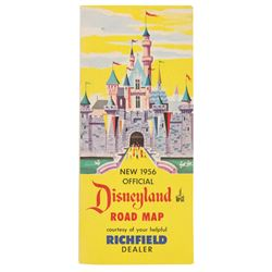 "Richfield Oil ""Disneyland Road Map""."