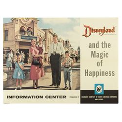 Disneyland Promotional Poster by INA.