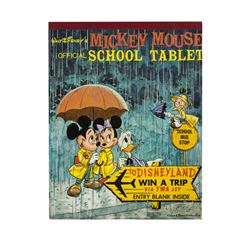 Mickey Mouse School Tablet with Disneyland Contest.