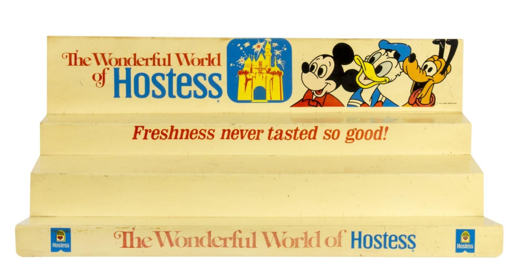 Hostess Disneyland Advertising Store Display