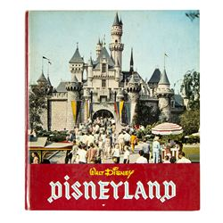 """Walt Disney - Disneyland"" Hardcover Book."