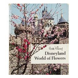 """World of Flowers"" Disneyland Horticulture Book."